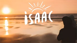Isaac, along the beach