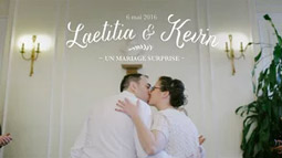 Laetitia & Kevin, mariage surprise